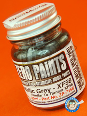 Zero Paints: Paint - Metallic Grey similar to XF-56 - 30ml - for Airbrush